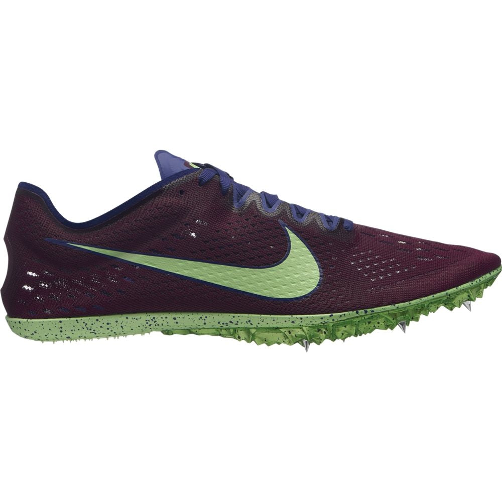 Nike Zoom Victory Elite 2 Running Spikes Regency Purple / Lime Blast