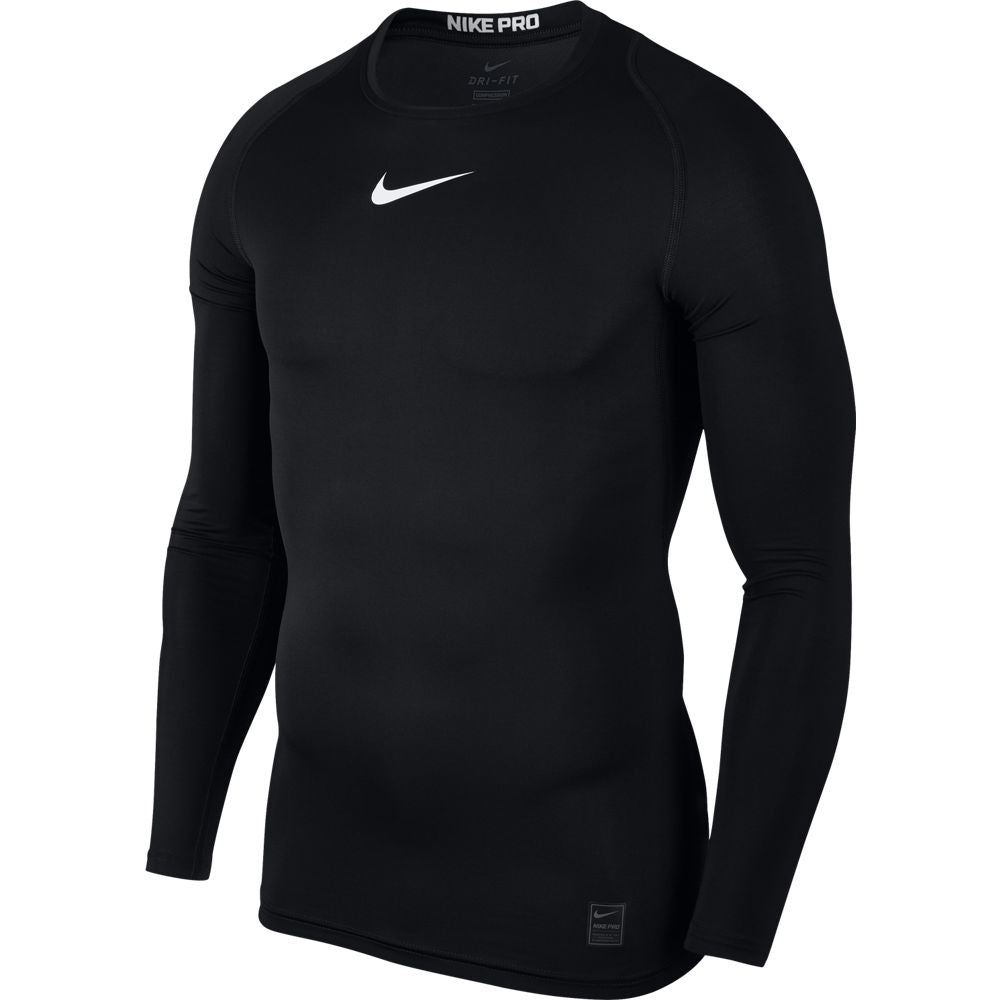 Nike Men's Pro Training Top Black /  White