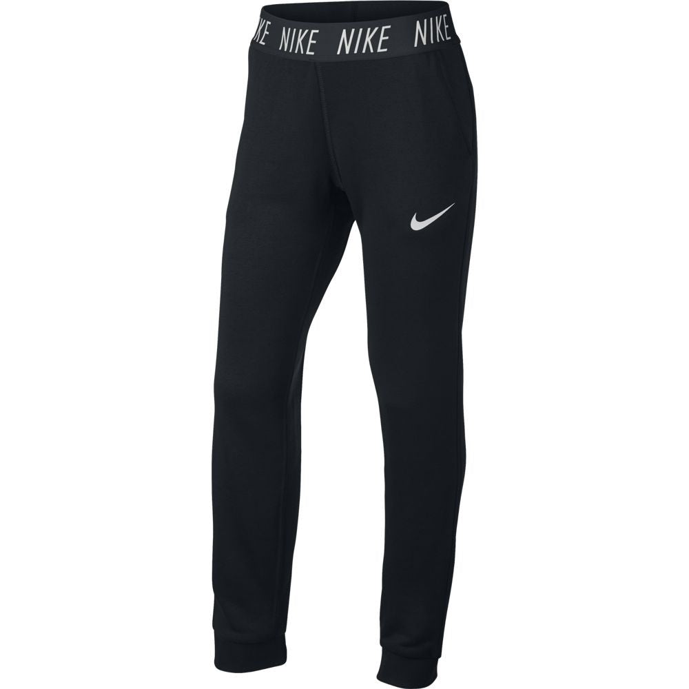 Nike Girls Dry Core Studio Training Pant Black - achilles heel