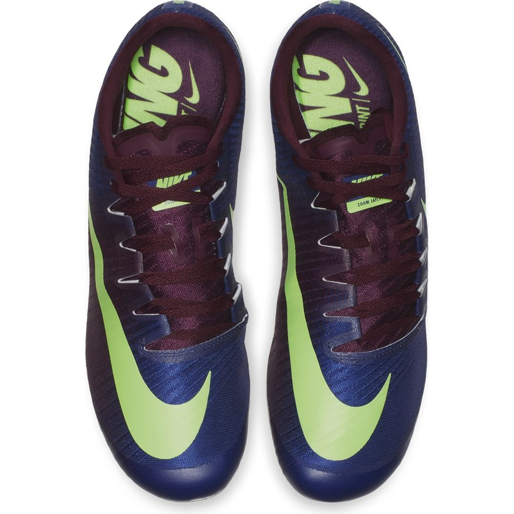 Nike Zoom Ja Fly 3 Running Spikes Regency Purple / Lime Blast - achilles heel