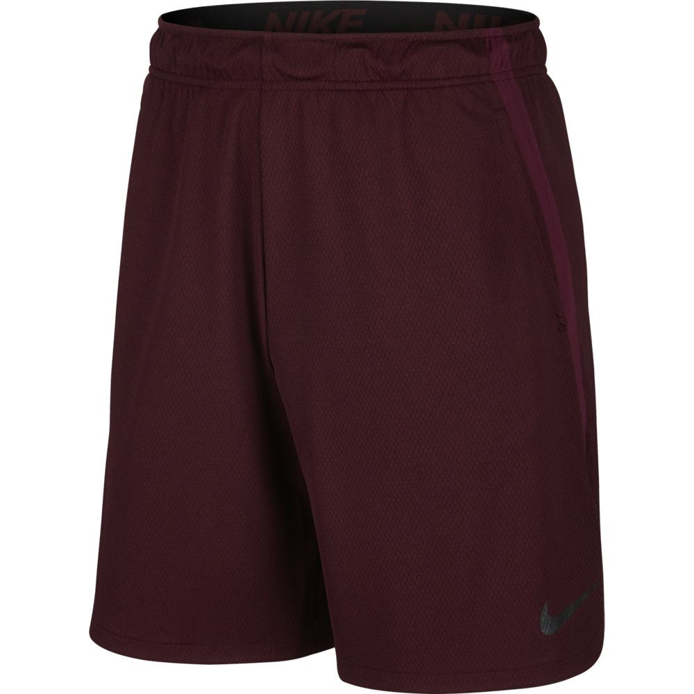 Nike Men's Dry Training 9 Inch Short Burgundy Crush