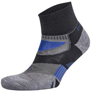 Balega Enduro V-Tech Black, Grey & Blue Running Socks
