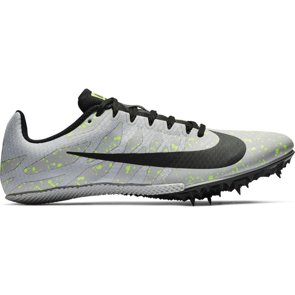 Nike Zoom Rival S 9 Running Spikes Pure Phantom / Black / Volt Glow