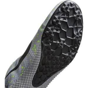 Nike Zoom Rival S 9 Running Spikes Pure Phantom / Black / Volt Glow - achilles heel