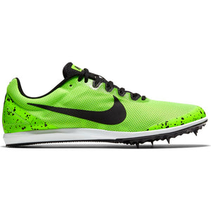 Nike Zoom Rival D 10 Running Spikes Electric Green / Black / Pure Platinum - achilles heel