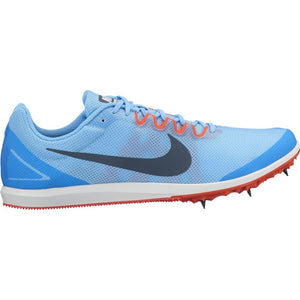 Nike Zoom Rival D 10 Running Spikes Football Blue / Blue Fox - achilles heel