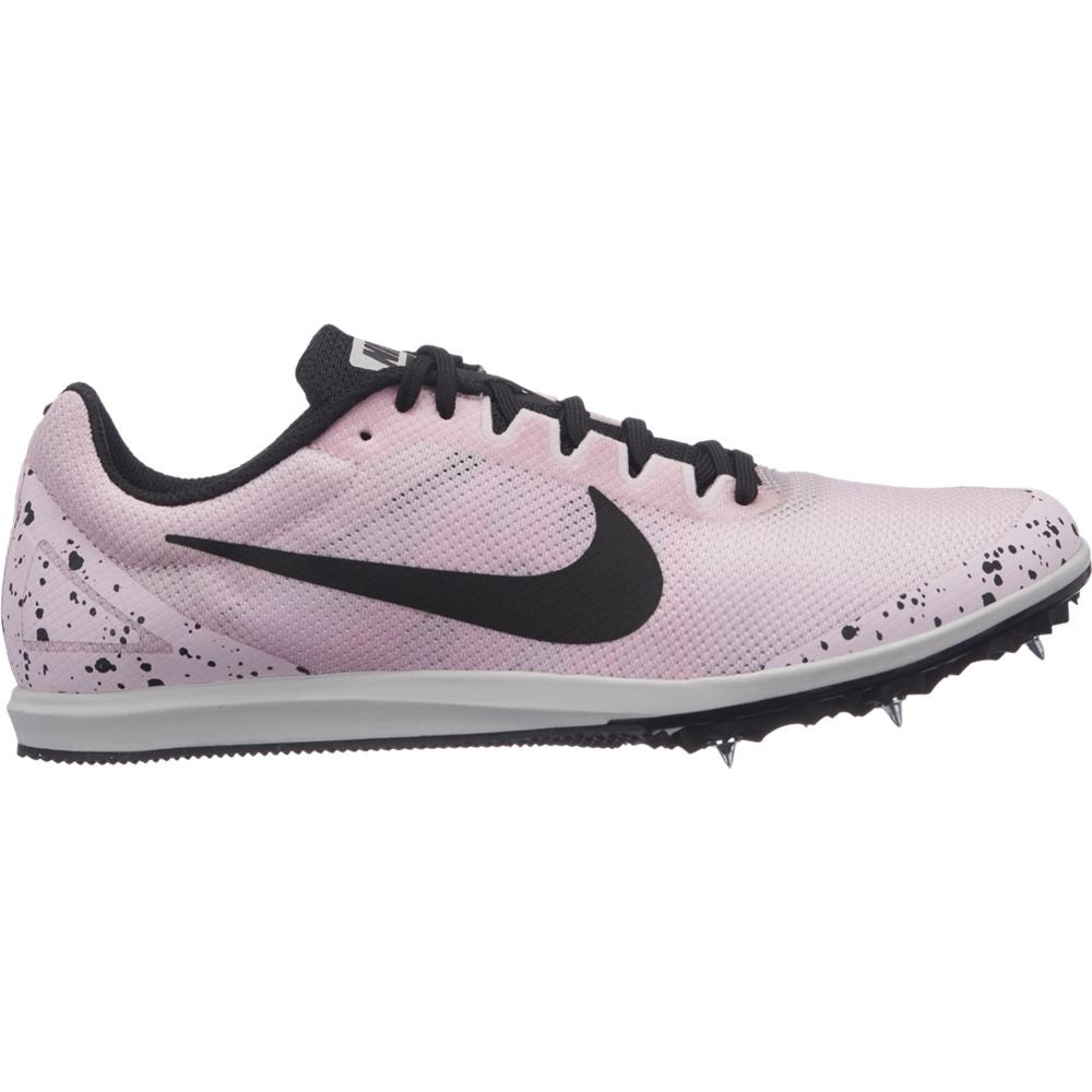 Nike Women's Zoom Rival D 10 Running Spikes Pink Foam / Black / Vast Grey - achilles heel