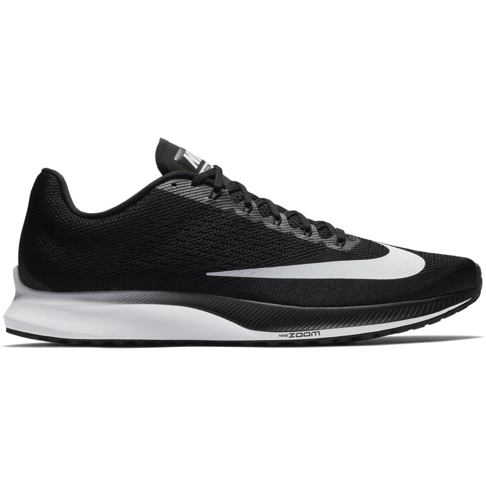 Nike Men's Zoom Elite 10 Running Shoes Black / White / Volt