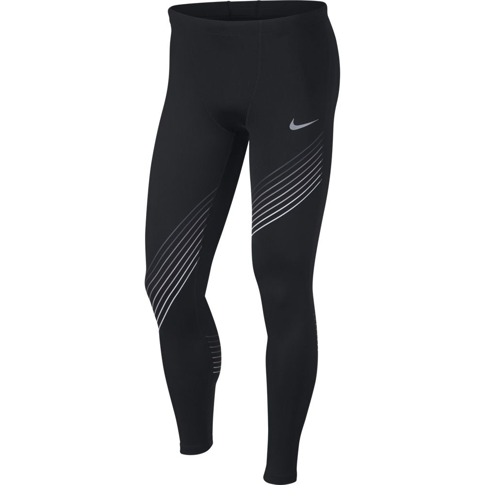 Nike Men's Run Graphic Tight Black SU18 010