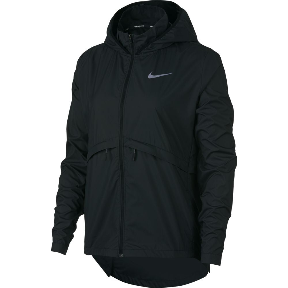 Nike Women's Essential HD Jacket Black - achilles heel