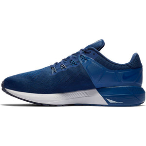 Nike Men's Air Zoom Structure 22 Running Shoes Blue Void / Grey Gym Blue - achilles heel
