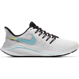Nike Women's Air Zoom Vomero 14 Running Shoes White / Glacier Ice / Black - achilles heel