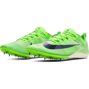 Nike Zoom Victory XC 5 Running Spikes Electric Green / Black - achilles heel