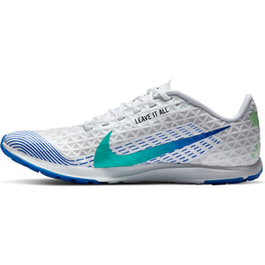 Nike Zoom Rival XC Running Spikes White / Flash Crimson / Black / Hyper Jade - achilles heel