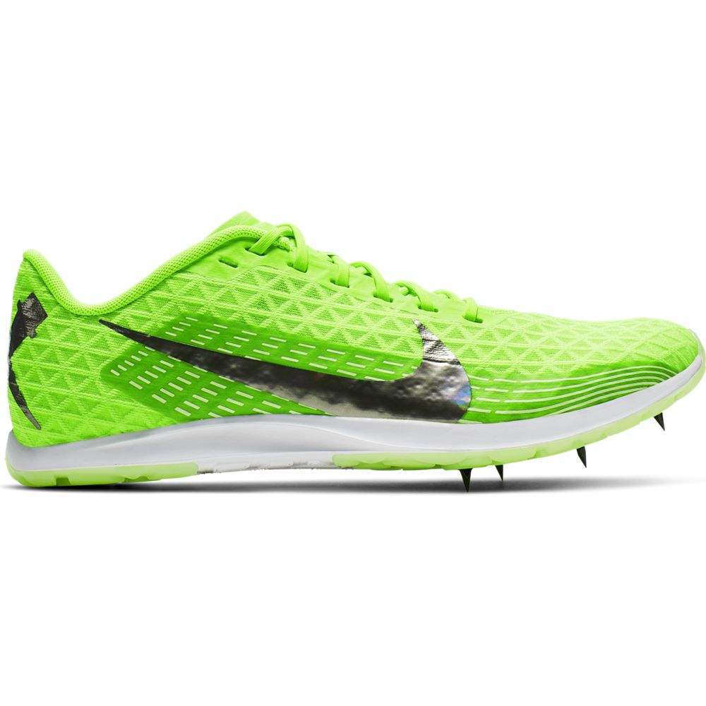 Nike Zoom Rival XC Running Spikes Electric Green / Metallic Pewter