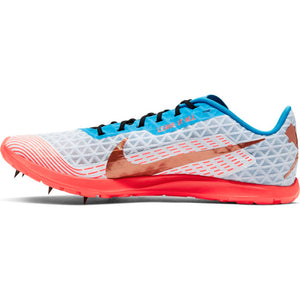 Nike Zoom Rival XC Running Spike Half Blue / Metallic  Copper - achilles heel