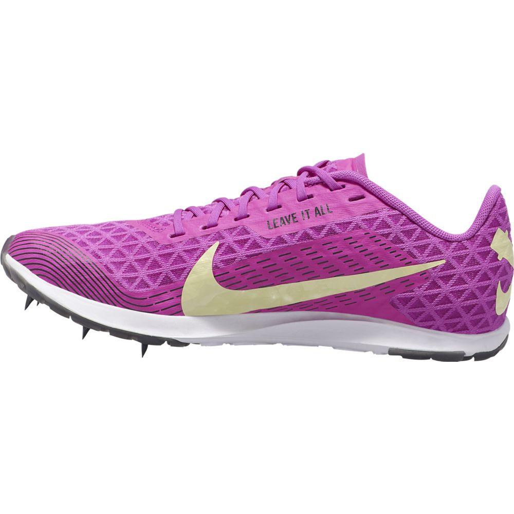 Nike Women's  Zoom Rival XC Running Spike Hyper Violet / Luminous Green - achilles heel