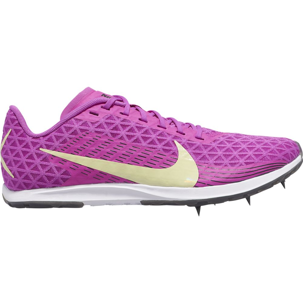 Nike Women's  Zoom Rival XC Running Spike Hyper Violet / Luminous Green