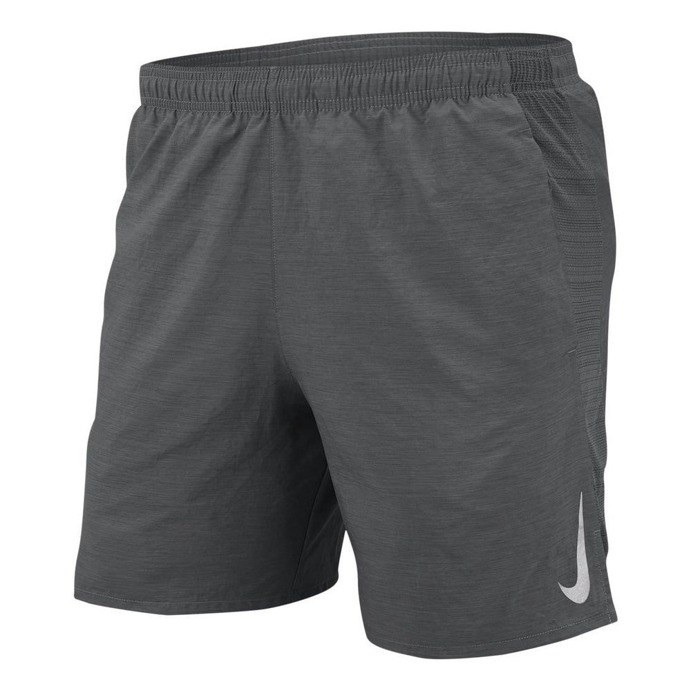 Nike Men's Challenger 7 Inch Shorts Iron Grey / Reflective Silver - achilles heel