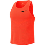 Nike Men's Aeroswift Singlet Total Orange / Black - achilles heel