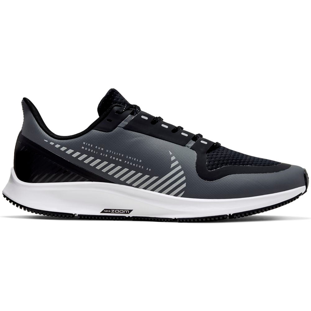 Nike Men's Air Zoom Pegasus 36 Shield Cool Grey / Silver Black