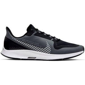 Nike Women's  Air Zoom Pegasus 36 Shield Cool Grey / Silver Black - achilles heel