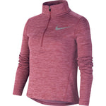 Nike Girls Run Top Magic Flamingo / Heather / Reflective Silver - achilles heel