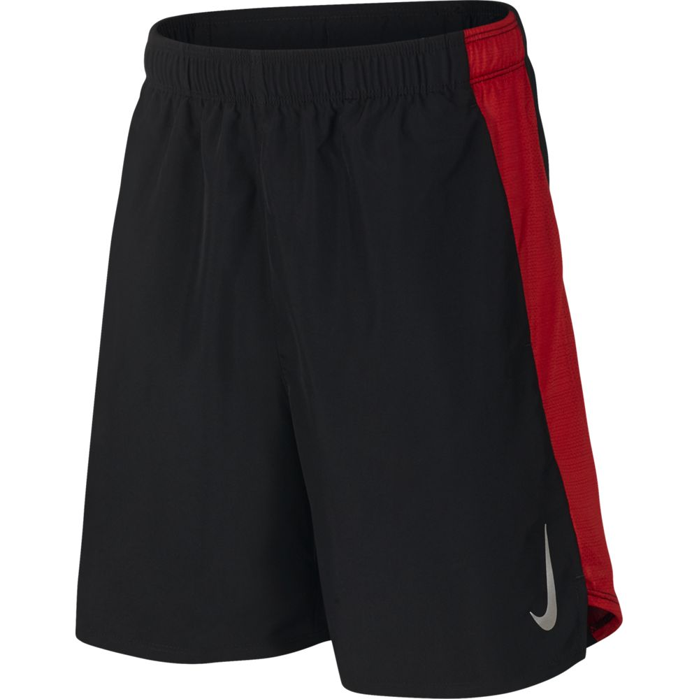 Nike Boys Flex 6 Inch Short Black / Red - achilles heel