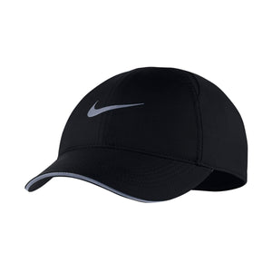 Nike Women's Aerobill Featherlight Running Cap Black - achilles heel