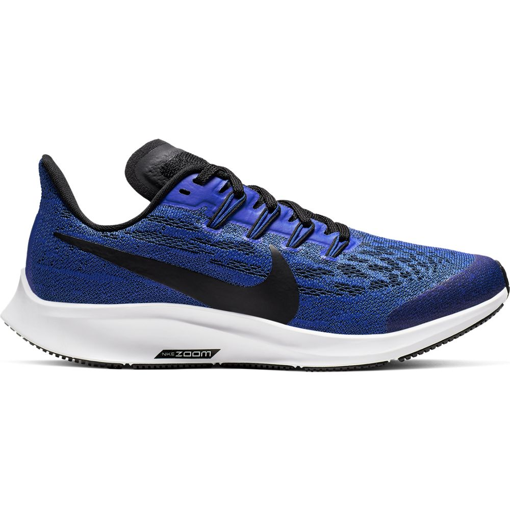 Nike Kids Air Zoom Pegasus 36 Running Shoes Racer Blue / Black / White