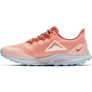 Nike Women's Air Zoom Pegasus 36 Trail Running Shoes Pink Quartz / Pale Ivory - achilles heel