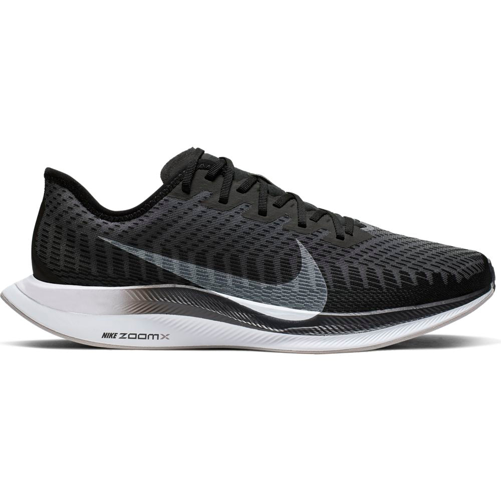 Nike Men's Zoom Pegasus Turbo 2 Black / White / Gunsmoke - achilles heel
