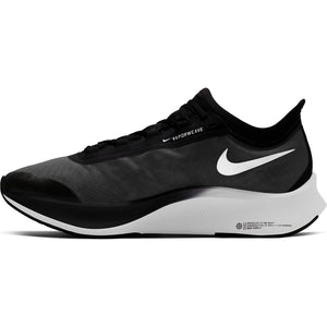 Nike Men's Zoom Fly 3 Running Shoes Black / White Volt - achilles heel