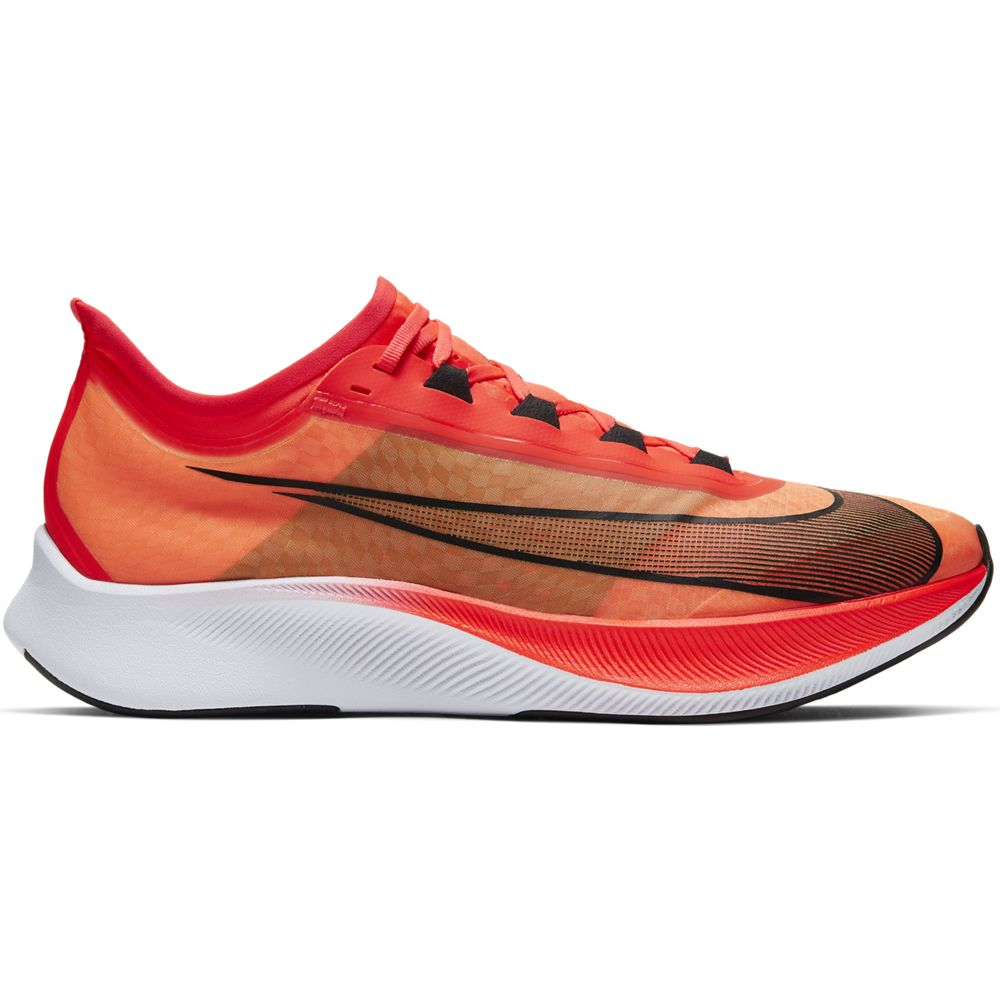 Nike Men's Zoom Fly 3 Running Shoes Bright Crimson / Black / White