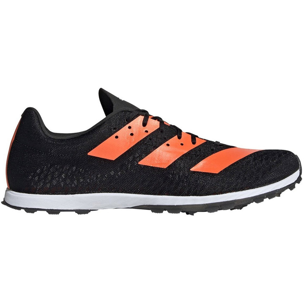 Adidas Men's adizero XCS Running Spikes Black / Orange - achilles heel