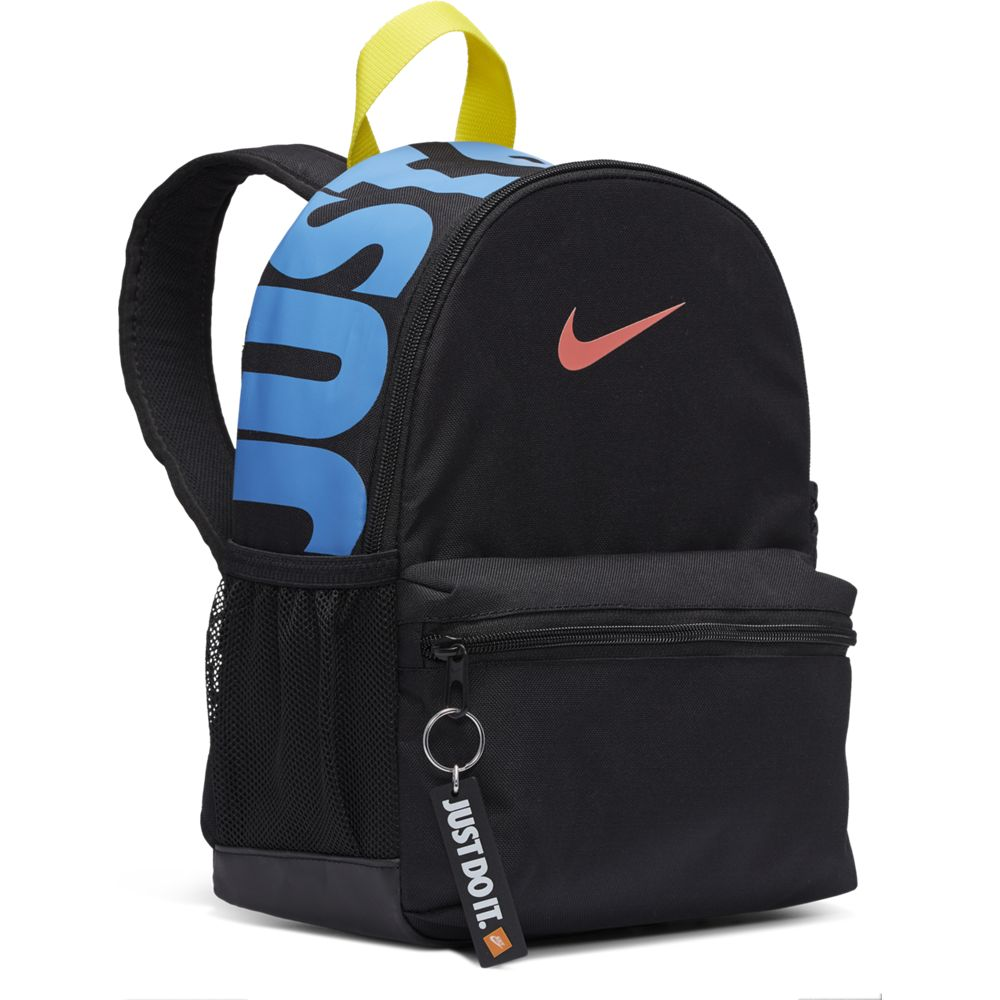Nike Kids Brasilia JDI Backpack Black / Black / Magic Ember - achilles heel