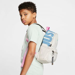 Nike Kids Brasilia JDI Backpack Light Orewood / Black / Emerald Rise - achilles heel