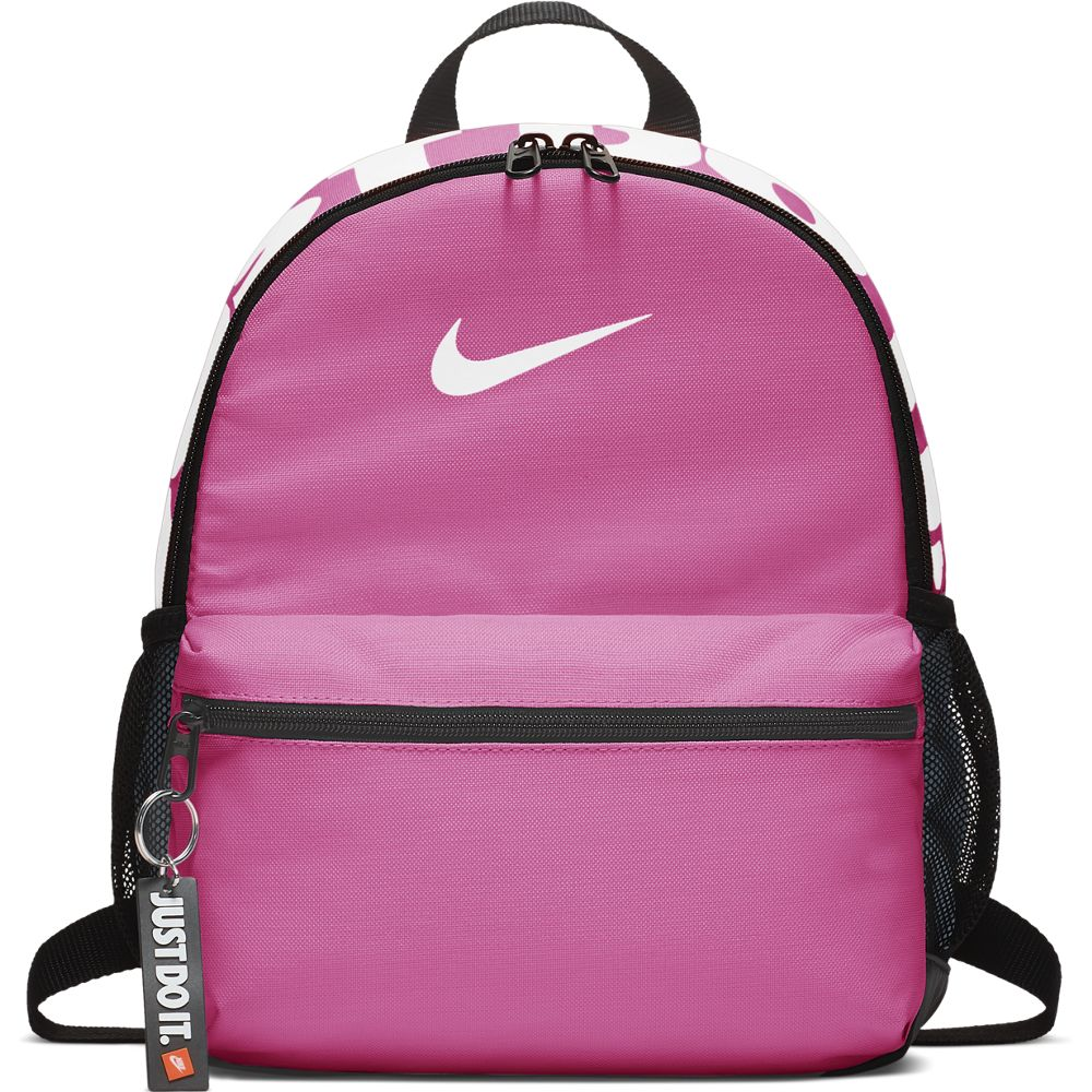 Nike Kids Brasilia JDI Backpack Pink / White