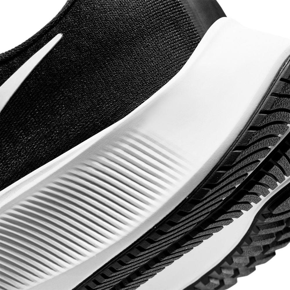 Nike Men's Air Zoom Pegasus 37 Running Shoes Black / White - achilles heel