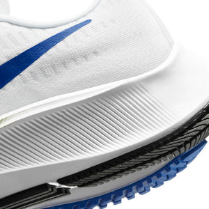 Nike Men's Air Zoom Pegasus 37 Running Shoes White / Racer Blue / Cyber Black - achilles heel