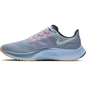 Nike Men's Air Zoom Pegasus 37 Running Shoes Obsidian Mist / Hydrogen Blue - achilles heel