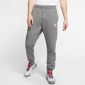 Nike Men's Sportswear Club Jogger Charcoal Heather / Anthracite White - achilles heel