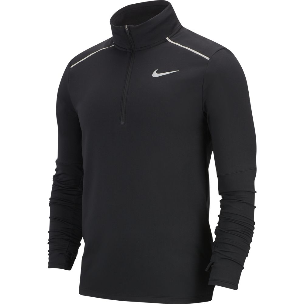 Nike Men's Dry Element Top 3.0 Black / Reflective Silver