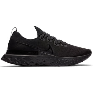 Nike Men's React Infinity Run Flyknit Running Shoes Black / Black - achilles heel