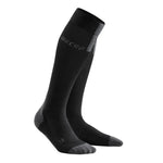 CEP Men's Compression Run Socks 3.0 Black /  Dark Grey