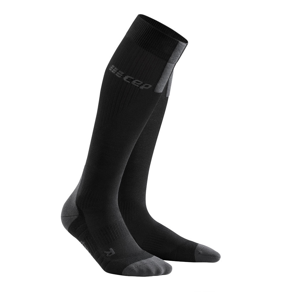 CEP Women's Compression Run Socks 3.0 Black / Dark Grey