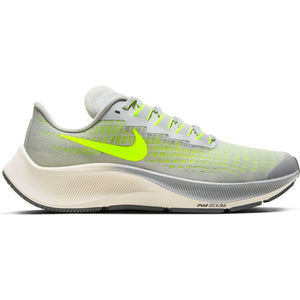 Nike Kids Air Zoom Pegasus 37 Running Shoes Grey  Fog  / Volt Smoke Grey / Sail - achilles heel
