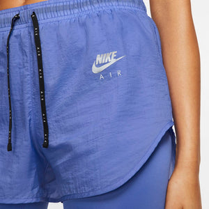Nike Women's Air 2 in 1 Short Sapphire / Light Thistle / Reflective Silver - achilles heel