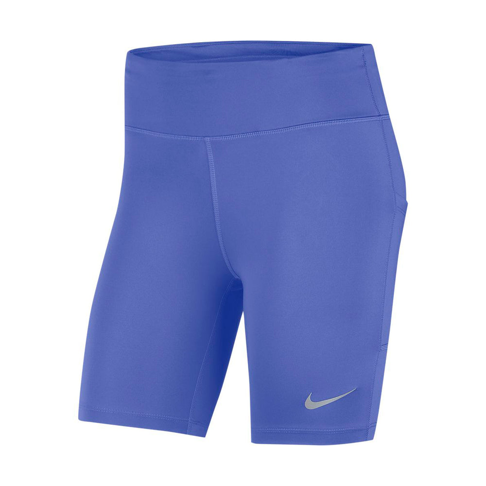 Nike Women's Fast 7 Inch Short Sapphire / Reflective Silver - achilles heel