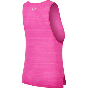Nike Women's Better Icon Clash Tank Fire Pink / Heather / Magic Flamingo / White - achilles heel